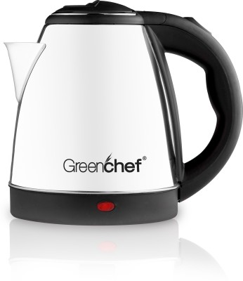 Greenchef Kettle1.5L Electric Kettle (1.5 L, Silver)