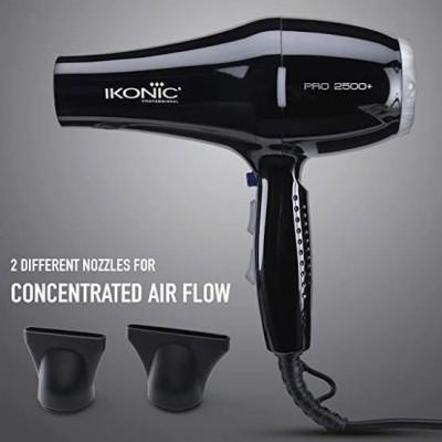 Ikonic Professional Ikonic pro 2500 Hair Dryer(2500 W, Black)