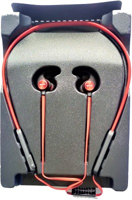 Intex BT MUSIQUE BASS Bluetooth Headset(Red, In the Ear)