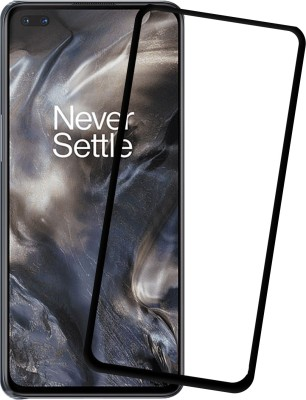 Karpine Edge To Edge Tempered Glass for OnePlus Nord(Pack of 1)