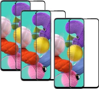 Temperia Edge To Edge Tempered Glass for Poco M3, Poco M2, Mi Redmi 9 Prime, Mi Redmi 9, Mi Redmi 9 Power(Pack of 3)