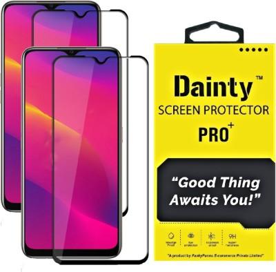 Dainty Edge To Edge Tempered Glass for Oppo A5 2020, Oppo A9 2020(Pack of 2)