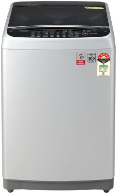 LG 8 kg 5 star Fully Automatic Top Load Silver T80SJSF1Z LG Washing Machines