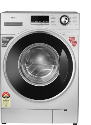 IFB 8 kg 5 Star Fully Automatic Front Load with In-built Heater Silver(SENATOR PLUS SX)