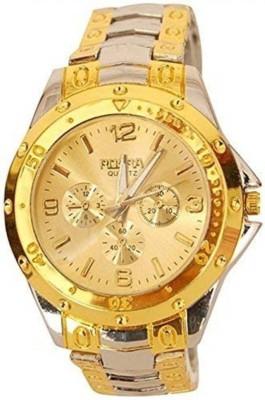McLaren ML 310 Rosra New Stylish Golden Strap Analog Watch   For Men McLaren Wrist Watches