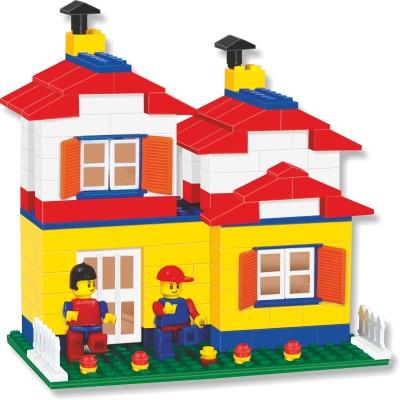 Buy Nabhya Happy Home PVC Packing Building Blocks Early ...