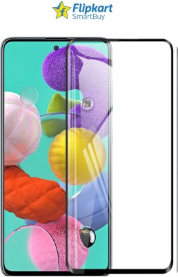 Flipkart SmartBuy Edge To Edge Tempered Glass for Samsung Galaxy A51, Realme 7 Pro(Pack of 1)