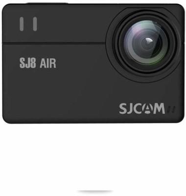 "SJCAM SJ8 Air 1296P WiFi Sports Action Camera 2.33"" Retina Ips Display - Black Full Set Instant Camera(Black)"