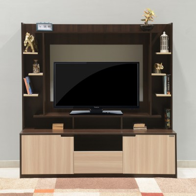 Nilkamal Cyndy Engineered Wood TV Entertainment Unit(Finish Color - Wenge & Oak)