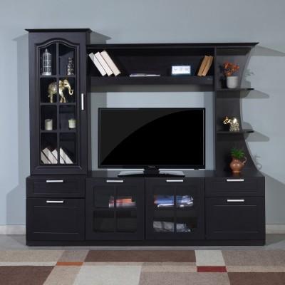 Nilkamal Mandy Engineered Wood TV Entertainment Unit(Finish Color - Wenge)