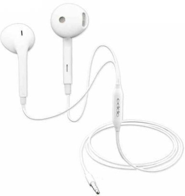 OPPO COMBO EARPHONE (PACK OF 2) 3.5MM WIRED HEADSET Wired Headset(White, In the Ear)