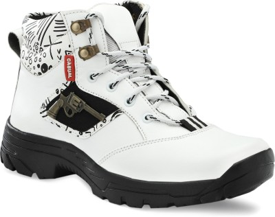 Rzisbo Boots For Men(White)