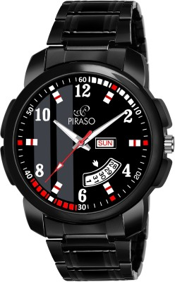 PIRASO D&D-14 ANALOG DAY AND DATE DISPLAY WATCH FOR MEN & BOYS...
