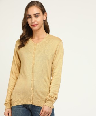 Breil by Fort Collins Women Button Solid Cardigan