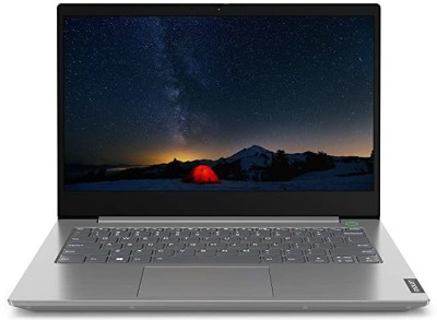 Lenovo ThinkBook 14 Core i5 10th Gen - (8 GB/256 GB SSD/Windows 10 Pro) ThinkBook 14 IML Thin and Light...