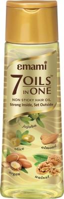 EMAMI 7 Oils In One Non Sticky Hair Oil 500ml Hair Oil(500 ml)