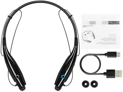 F FERONS Universal Wireless Bluetooth 4.1 Headphone Earphone Op_po/V.i_vo Bluetooth Headset(Black, In the Ear)
