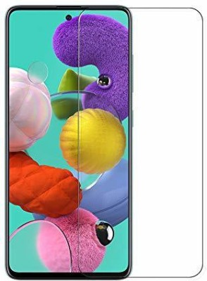 Power Tempered Glass Guard for Samsung Galaxy A71(Pack of 1)