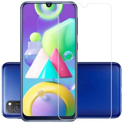 Power Tempered Glass Guard for Samsung Galaxy M21(Pack of 1)