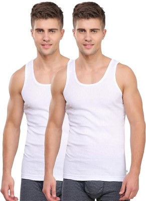 RK B WEAR Men Vest  (Pack of 2)