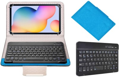 ACM Keyboard Case for Samsung Galaxy Tab S6 Lite(Blue, Cases with Holder)