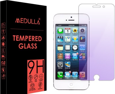 Medulla Tempered Glass Guard for Apple iPhone 4(Pack of 1)