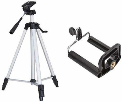 BFBHARAT FACTORY TRIPOD3110 Tripod(GREY BLACK, Supports Up to 200 g)