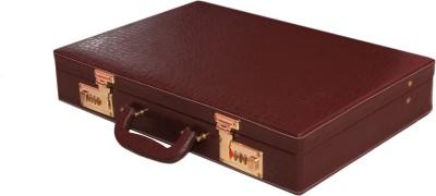 M A TRADERS M11235Medium Briefcase - For Men & Women (BROWN) Medium Briefcase - For Men & Women(Brown)