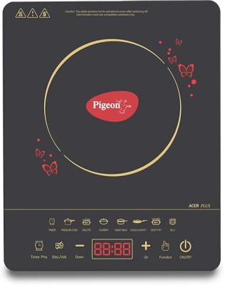 Pigeon Induction Cooktop_14429 Induction Cooktop(Black, Touch Panel)