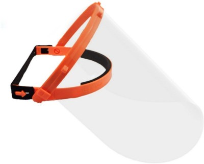 mechdel (Orange) M100 Safety Visor(Size - free size)
