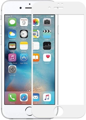 electmart Edge To Edge Tempered Glass for Apple iPhone 6s, Apple iPhone 6(Pack of 1)