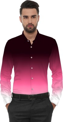 wopno Cotton Polyester Blend Faded Shirt Fabric(Unstitched)