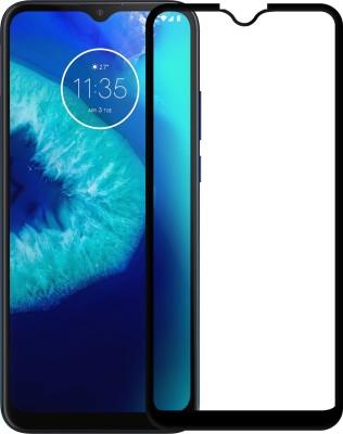 Karpine Edge To Edge Tempered Glass for Motorola Moto G8 Power Lite(Pack of 1)