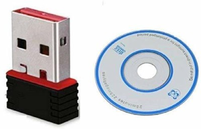 CAPITAL TERABYTE 1000Mbps Portable High Speed Long range Nano Wifi Dongle, Connector, Receiver 802.11B/G/N 2.0 Wireless Wi Fi 2.4GHz Wireless LAN Netw