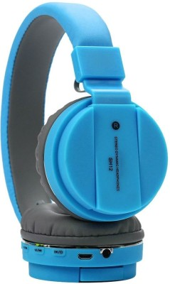 F FERONS SMART BUY Thunder Beat Sound Headphone with Noise Isolation Bluetooth Headset(Blue, On the Ear)