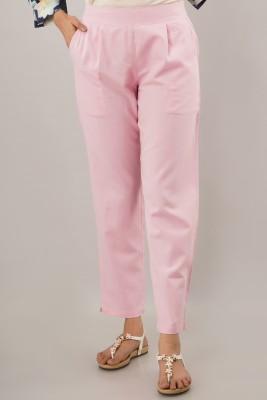 JAIPUR VASTRA Regular Fit Women Pink Trousers