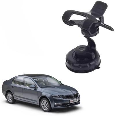 AutoKraftZ Car Mobile Holder for Dashboard Black
