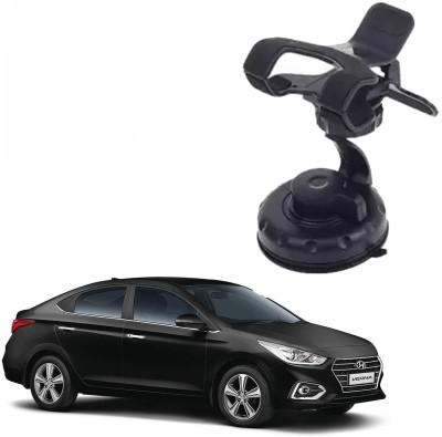 AdroitZ Car Mobile Holder for Windshield, Dashboard Black