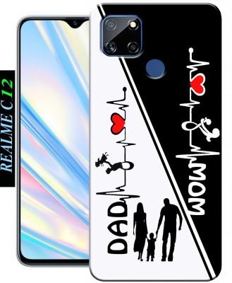 CUTECASE Back Cover for Realme C12, Realme Narzo 20(Multicolor, Dual Protection, Silicon)