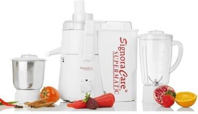Signora Care Pro GGDHTT4 900 Mixer Grinder(White, 2 Jars)