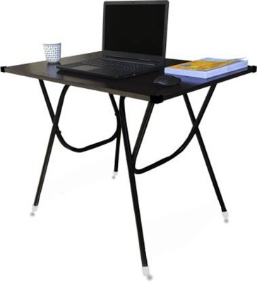 BROWNIE Engineered Wood Study Table(Free Standing, Finish Color - Brown)