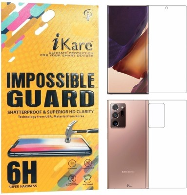 iKare Front and Back Screen Guard for Samsung Galaxy Note 20 Ultra(Pack of 2)