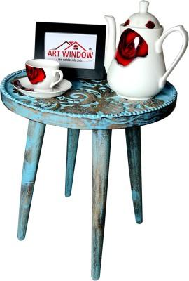 Art Window Heena Blue Stool Living & Bedroom Stool(Blue)