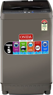 Onida 5.5 kg 5 Star Fully Automatic Top Load Grey