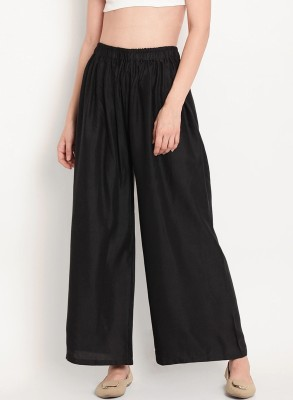 STYLE N SHADES Relaxed Women Black Trousers