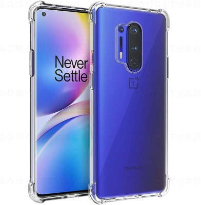 LOWCOST ASM Bumper Case for ONEPLUS 8 PRO(Transparent, Shock Proof)