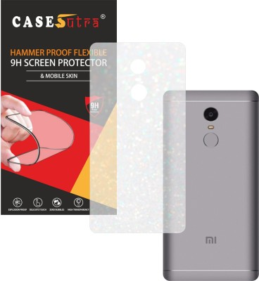 CASESUTRA Back Screen Guard for Xiaomi Redmi Note 4, Xiaomi Redmi Note 4x, 2016100(Pack of 1)
