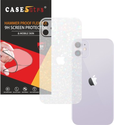 CASESUTRA Back Screen Guard for Apple iPhone 11(Pack of 1)