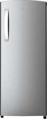 Whirlpool 215 L Direct Cool Single Door 4 Star Refrigerator Alpha Steel, 230 IMPRO PRM 4S INV Whirlpool Refrigerators