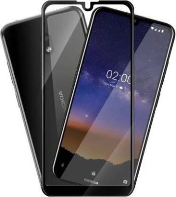 Ravbelli Edge To Edge Tempered Glass for Nokia 2.2(Pack of 1)